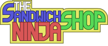 The Sandwich Shop Ninja Logo